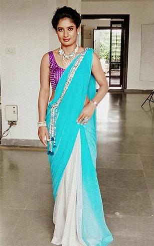 Mithali Raj in Saree