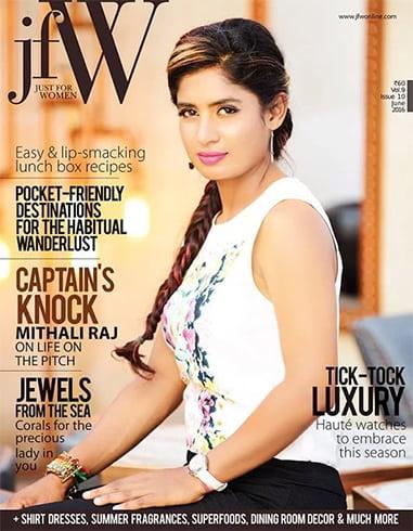 Mithali Raj JFW Magazine