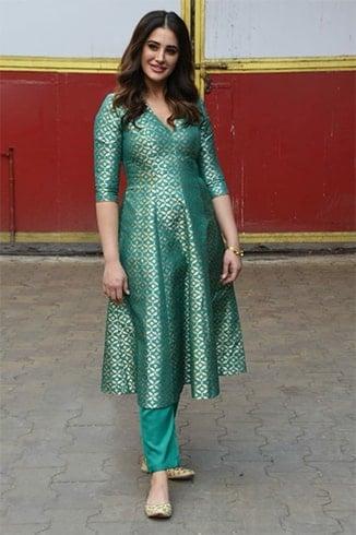 Nargis Fakhri Amavas Promotion