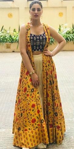 Nargis Fakhri Anushree Reddy outfit