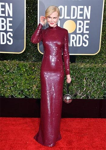 Nicole KidmanGolden Globe Awards 2019