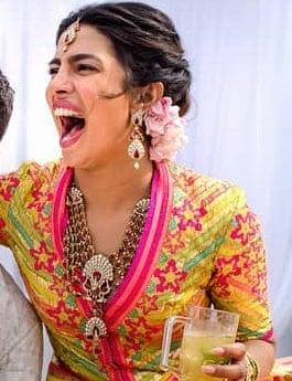 Priyanka Chopra Mehndi Jewellery
