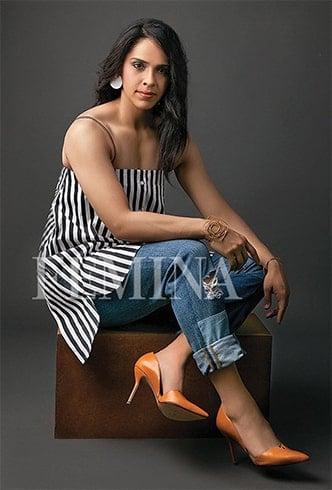 Saina Nehwal Magazine Shoot