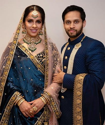 Saina Nehwal Parupalli Kashyap Wedding