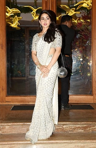 Sara Ali Khan in Saree