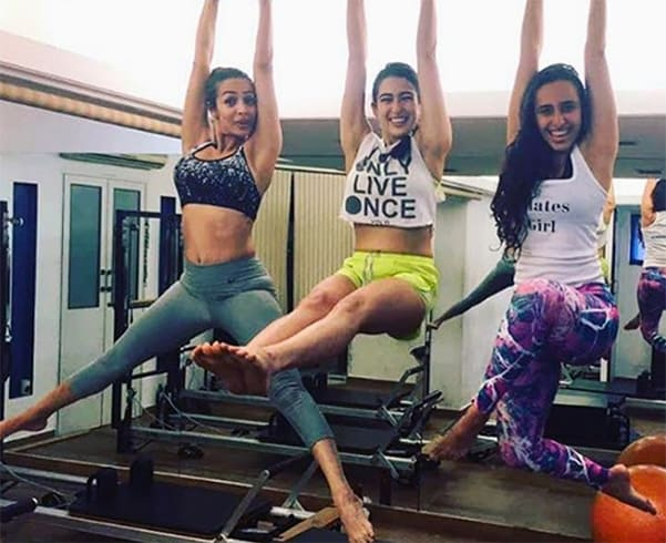 Sara Ali Khan Workout
