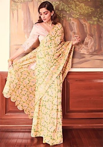 Sonam Kapoor in The Jodi Life Sari