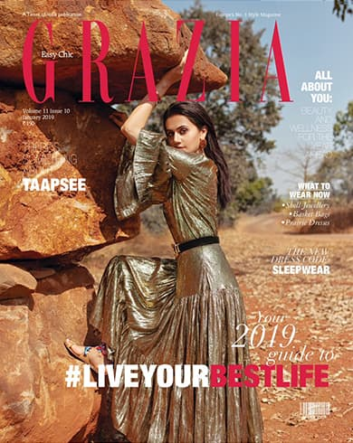 Taapsee Pannu on Grazia January 2019