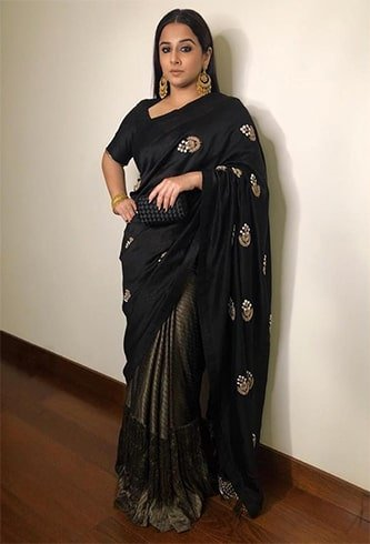 Vidya Balan at Sakshi Bhatt Wedding Reception