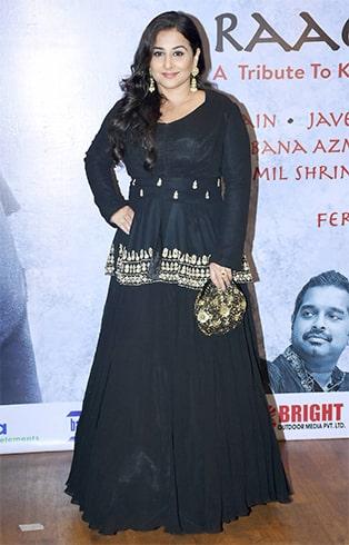 Vidya Balan Raag Shayari Premiere