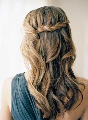 Waterfall Layers Hairstyles