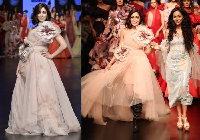 Yami Gautham for Gauri and Nainika LFWSR19