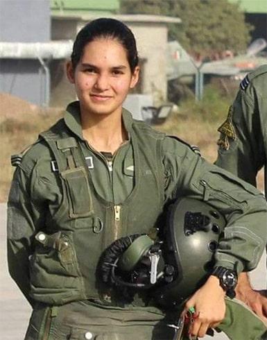 Avani Chaturvedi Woman Fighter Pilot