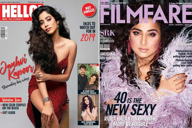 Bollywood Magazine Cover February 2019