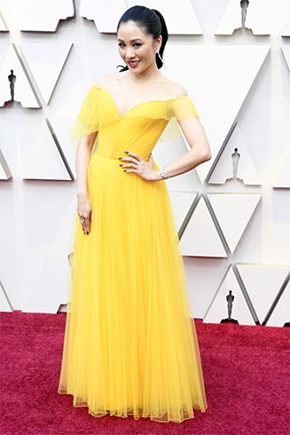 Constance Wu at Oscars 2019