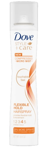Dove Compressed Micro Mist Flexible Hold Hairspray