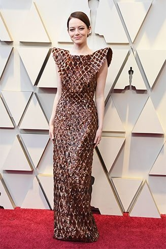 Emma Stone at Oscars 2019