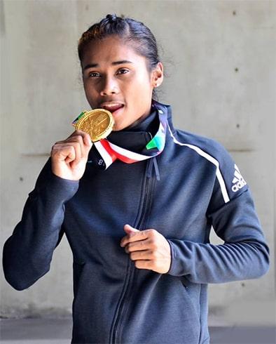 Hima Das Indian Sprint Runner