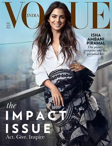 Isha Ambani on Vogue