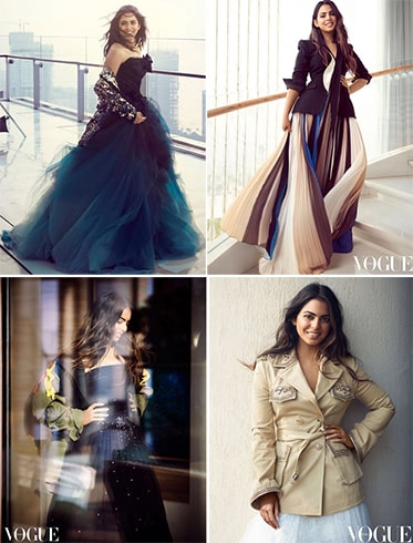 Isha Ambani Vogue shoot