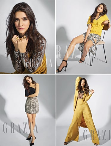 Kriti Sanon Grazia February Shoot