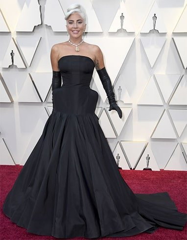 Lady Gaga at Oscars 2019