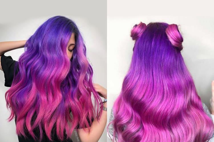 Idées de couleur de cheveux lavande