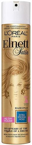LOreal Elnett Satin Hairspray Extra Strong Hold