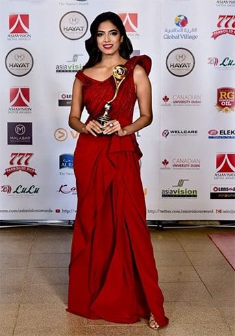 Malavika Mohanan at Asiavision Awards