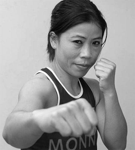 Mary Kom Woman Boxer