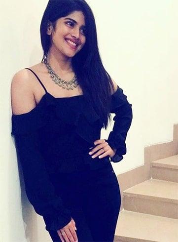 Megha Akash Black Dress