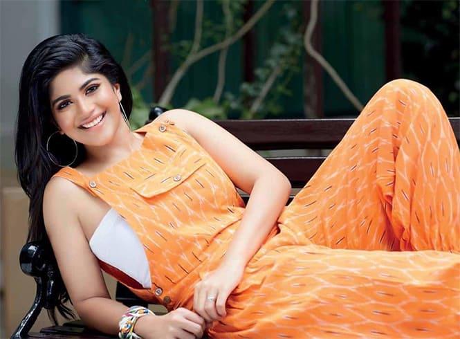 Megha Akash Orange Jumper