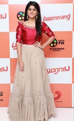 Megha Akash Outfits