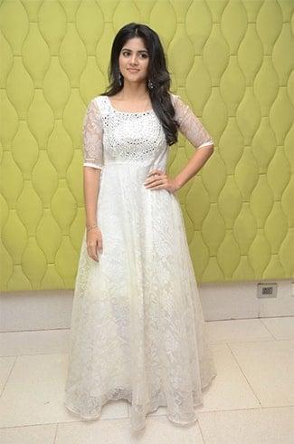 Megha Akash White Dress