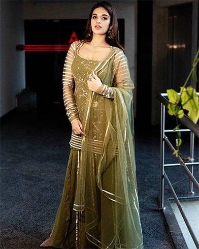 Nidhhi Agerwal in Salwar Suit