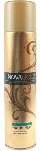 Nova Gold Super Firm Hold Hairspray