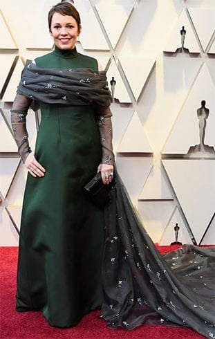 Olivia Colman at Oscars 2019