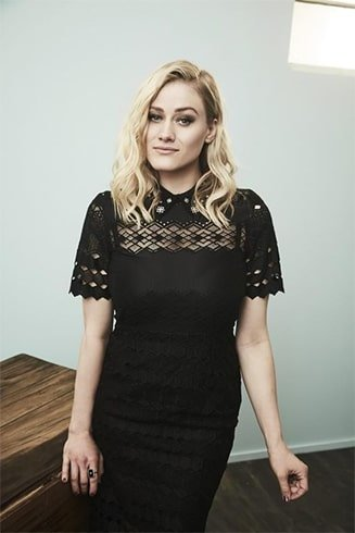 Olivia Taylor Dudley in Black