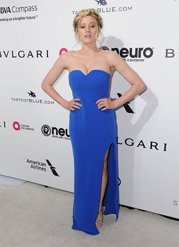 Olivia Taylor Dudley Oscar Viewing Party