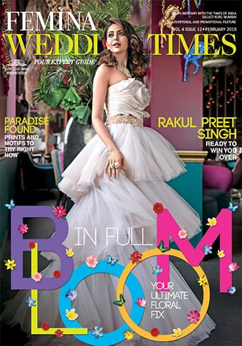 Rakul Preet Singh on Femina Wedding Times February 2019