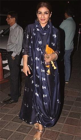 Raveena Tandon in Ka Sha Dress