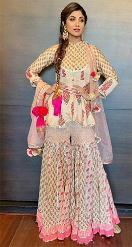 Shilpa Shetty Maayera outfit