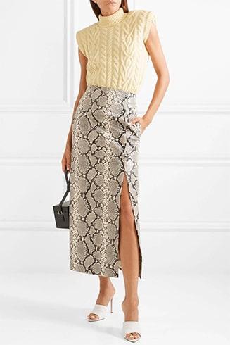 Snake Prints Dresses
