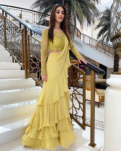 Vaani KapoorAnushree Reddy Sari