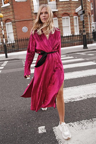 Wrap Dresses and Robe Coats