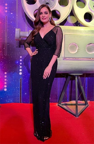 Dia Mirza at Zee Cine Awards 2019