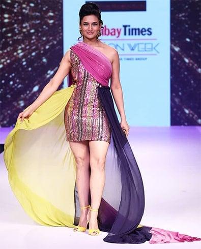 Divyanka Tripathi Dahiya at BTFW 2019