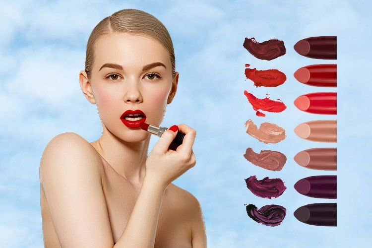 How To Choose Lipstick Shade For Skin Tone