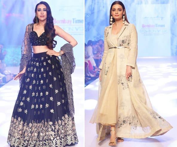 arishma Kapoor and Dia Mirza at BTFW 2019