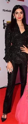 Khushi Kapoor at Filmfare Awards 2019